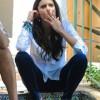 Нина Добрев курит